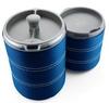 Термокружка для приготовления кофе GSI Outdoors Commuter Java Press 445 мл голубая - фото 1