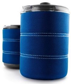 Фото 2 к товару Термокружка для приготовления кофе GSI Outdoors Commuter Java Press 445 мл голубая