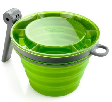 Кружка GSI Outdoors Collapsible Fairshare MUG зеленая