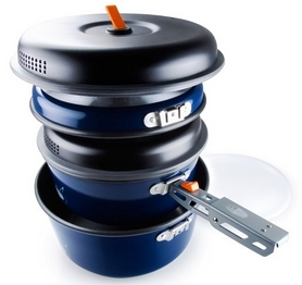 Фото 3 к товару Набор посуды GSI Outdoors Bugaboo Base Camper Medium