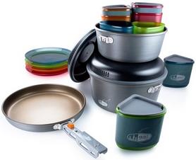 Набор посуды GSI Outdoors Pinnacle Camper