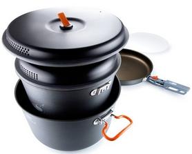 Фото 8 к товару Набор посуды GSI Outdoors Pinnacle Base Camper Large
