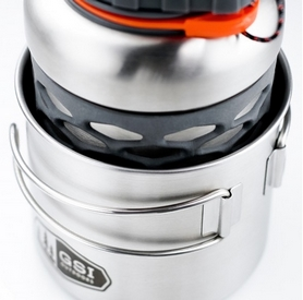 Фото 3 к товару Распродажа*! Кружка GSI Outdoors Glacier Stainless Bottle Cup/Pot 600 мл