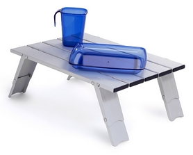 Фото 2 к товару Стол складной GSI Outdoors Micro Table (9,1х6,4х41,1 см)