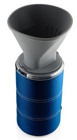 Фото 1 к товару Чашка с фильтром для кофе GSI Outdoors 30Fl.Oz. JavaDrip синяя