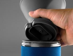 Фото 3 к товару Чашка с фильтром для кофе GSI Outdoors 50Fl.Oz. JavaDrip синяя