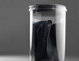 Фото 4 к товару Чашка с фильтром для кофе GSI Outdoors 50Fl.Oz. JavaDrip синяя