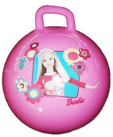 Фото 1 к товару Мяч попрыгун с ручкой Disney 45 см розовый