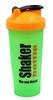 Шейкер Smart Shake 600 мл зелено-оранжевый - фото 1