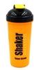 Шейкер Smart Shake 700 мл оранжево-черный - фото 1