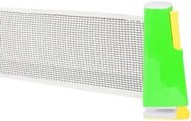 Сетка для настольного тенниса с креплением Torneo зеленая