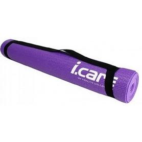 Коврик для йоги (йога-мат) Joerex iСare 4 мм с чехлом