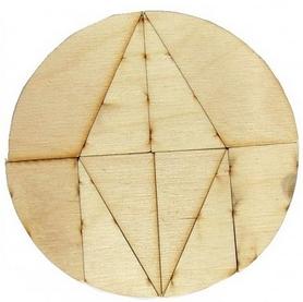 Фото 2 к товару Настольная игра геометрическая Крутиголовка