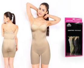 Белье утягивающее (корректирующее) Control Bodysuit ST-9163 телесное - S-M