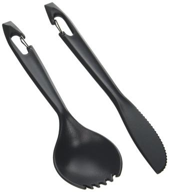 Набор посуды (нож, ложка) GSI Outdoors Piranha Cutlery Set