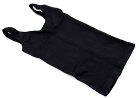 Фото 2 к товару Майка утягивающая (корректирующая) Control Bodysuit Thin vest ST-9161 черная