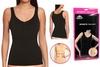 Майка утягивающая (корректирующая) Control Bodysuit Thin vest ST-9161 черная - фото 1