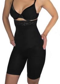 Шорты утягивающие (корректирующие) Control Bodysuit Slimming shorts ST-9162A черные - 2XL-3XL