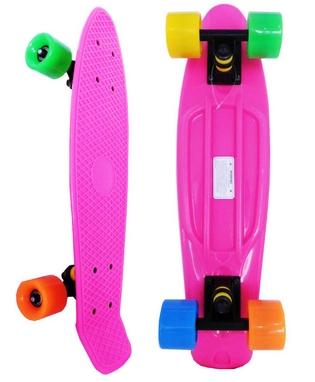 Скейтборд Penny Original Fish SK-401-20 розовый/черный