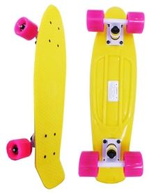 Скейтборд Penny Original Fish SK-401-21 желтый/белый/розовый