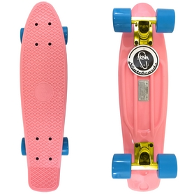 Скейтборд Penny Original Fish SK-401-23 розовый/желтый/синий
