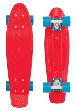 Скейтборд Penny Original Fish SK-401-24 красный/белый/синий
