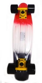 Скейтборд Penny Fish Color SK-402-8 красный/белый/черный