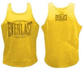 Майка боксерская Everlast CO-3765 желтая