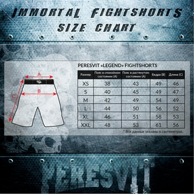 Фото 5 к товару Шорты Peresvit Legend Fightshorts Black Rain