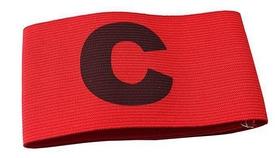 Повязка капитанская Select Captain`s Band красная