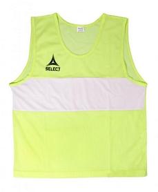 Накидка (манишка) тренировочная Select Bibs Standard senior желтая
