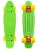 Скейтборд Penny Color Point Fish SK-403-10 зеленый/оранжевый/желтый - фото 1
