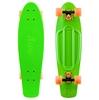 Скейтборд Penny Color Point Fish SK-403-11 зеленый/черный/оранжевый - фото 1