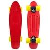 Скейтборд Penny Color Point Fish SK-403-12 красный/черный/желтый - фото 1