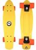 Пенни борд Penny Color Point Fish SK-403-3 желтый/черный/оранжевый - фото 1