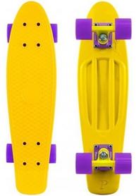 Фото 1 к товару Скейтборд Penny Color Point Fish SK-403-4 желтый/фиолетовый