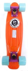 Фото 1 к товару Пенни борд Penny Color Point Fish SK-403-6 оранжевый/фиолетовый/зеленый