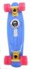 Скейтборд Penny Color Point Fish SK-403-7 синий/желтый/розовый - фото 1