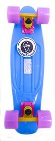 Фото 1 к товару Скейтборд Penny Color Point Fish SK-403-8 синий/желтый/фиолетовый