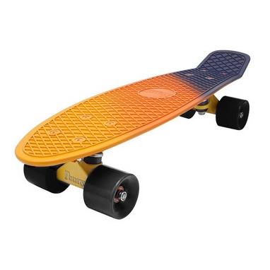 Скейтборд Penny Fish Swirl SK-408-1 оранжевый