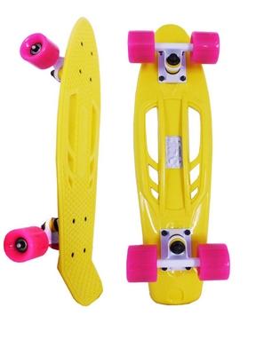 Скейтборд Penny Retro Portable SK-409-1 желтый