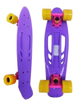 Скейтборд Penny Retro Portable SK-409-4 фиолетовый