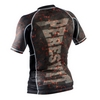 Рашгард Peresvit Immortal Silver Force Rashguard Short Sleeve Lava - фото 2
