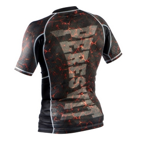Фото 2 к товару Рашгард Peresvit Immortal Silver Force Rashguard Short Sleeve Lava