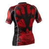Рашгард Peresvit Beast Silver Force Rashguard Short Sleeve Red - фото 2