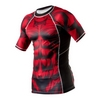Рашгард Peresvit Beast Silver Force Rashguard Short Sleeve Red - фото 3