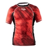 Рашгард Peresvit Immortal Silver Force Rashguard Short Sleeve Red Burn - фото 1