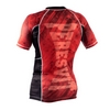 Рашгард Peresvit Immortal Silver Force Rashguard Short Sleeve Red Burn - фото 2