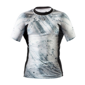 Фото 1 к товару Рашгард Peresvit Immortal Silver Force Rashguard Short Sleeve Snowstorm