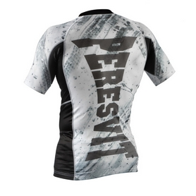 Фото 2 к товару Рашгард Peresvit Immortal Silver Force Rashguard Short Sleeve Snowstorm